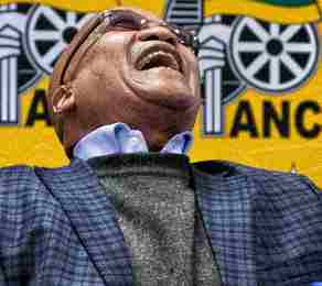 Zuma laughing all the way to gehenna