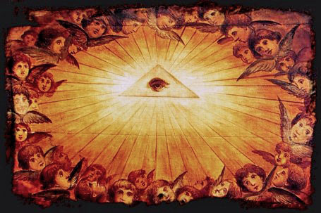 all seeing eye falcon angels_baptisteryCatholic basilica Santa Maria Maggiore Rome.jpg